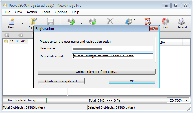 PowerISO 7.7 Registration Key [Crack] Updated Free Download